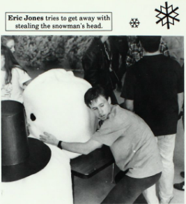 Snow fun inside - 1992 Enterprise High School yearbook