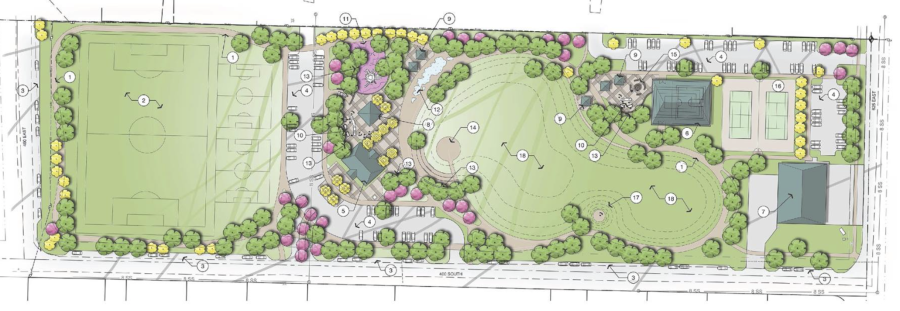 Enterprise City Finalized New City Park Concept