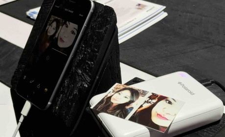 Instant Memories From Polaroid ZIP Mobile Printer
