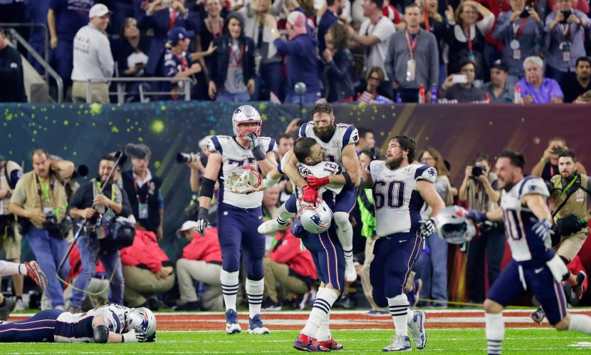 Patriots Overcome 31 Unanswered Points to Become Super Bowl 51 Champions