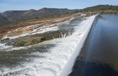 Nation's Tallest Dam in Northern California Overflows on Lake Oroville