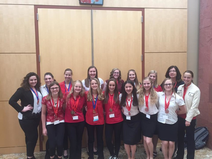 Enterprise High Students Compete at FCCLA State