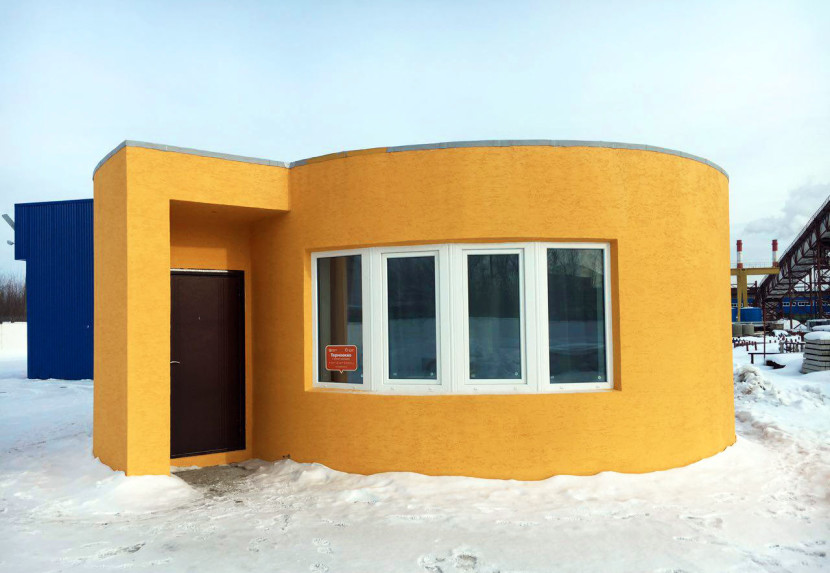 The first residential house was 3D-printed in just 24 hours