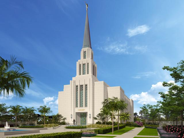 LDS Church Breaks Ground on Two South American Temples
