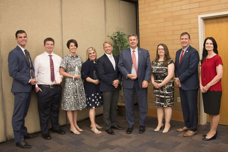 Dixie State University honors City of St. George, individuals with community engagement awards