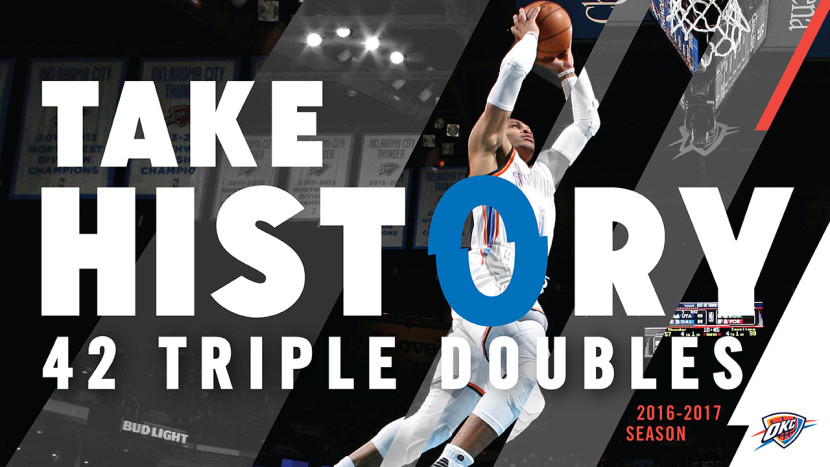 Westbrook is now the triple-double king