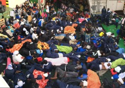 2,012 rescued on the Mediterranean