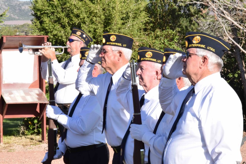 Enterprise Memorial Day Services Honor Local Veterans