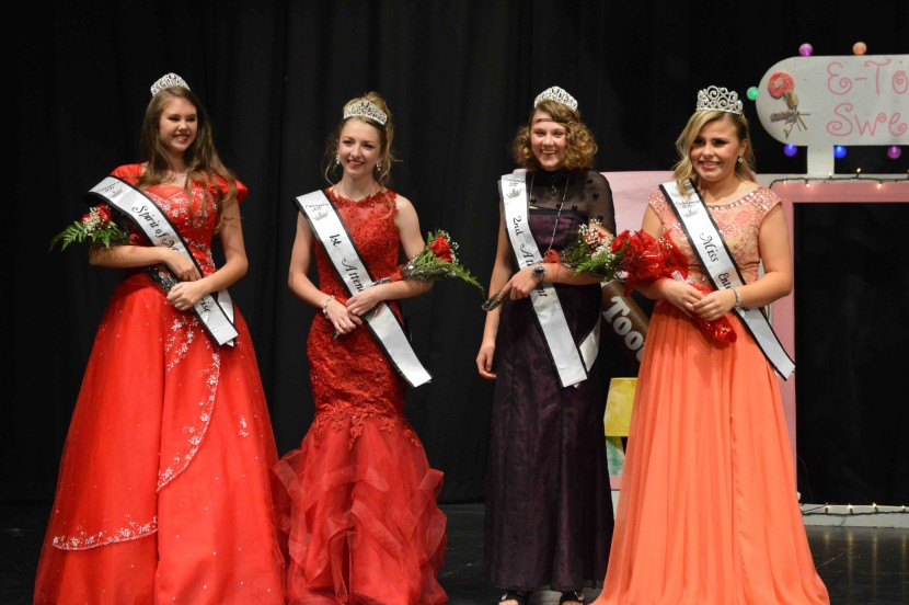 Jones is Crowned Miss Enterprise 2017
