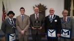 Dixie State University professor honored by masons as Educator of the Year