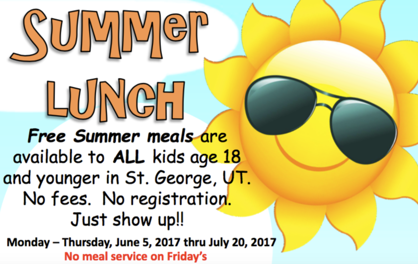 Free Summer Meals for Kids 18 and Younger