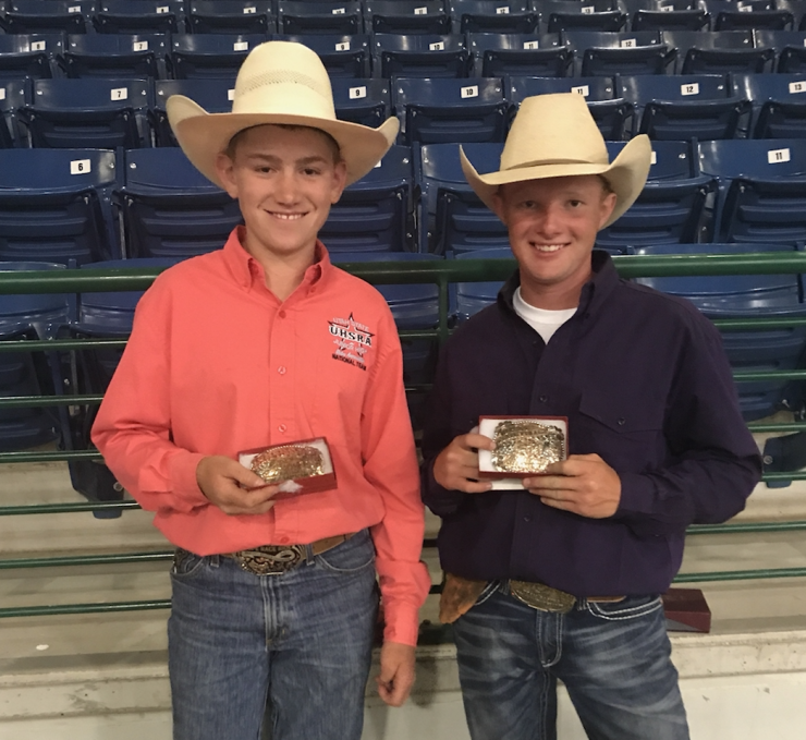TJ Bowler and Kade Reber Rodeo