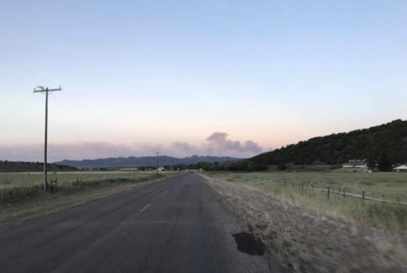 Grass Valley Fire/North Fire Outside Pine Valley
