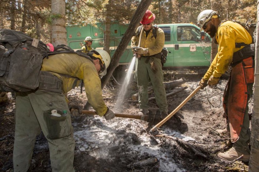 Brian Head Fire Jumps to 65% Contained