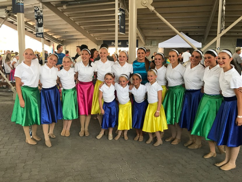 Enterprise Dancers Continue to Soar at Stadium of Fire