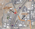 I-15 Ramp Closure to Aid Safety in Construction Zone