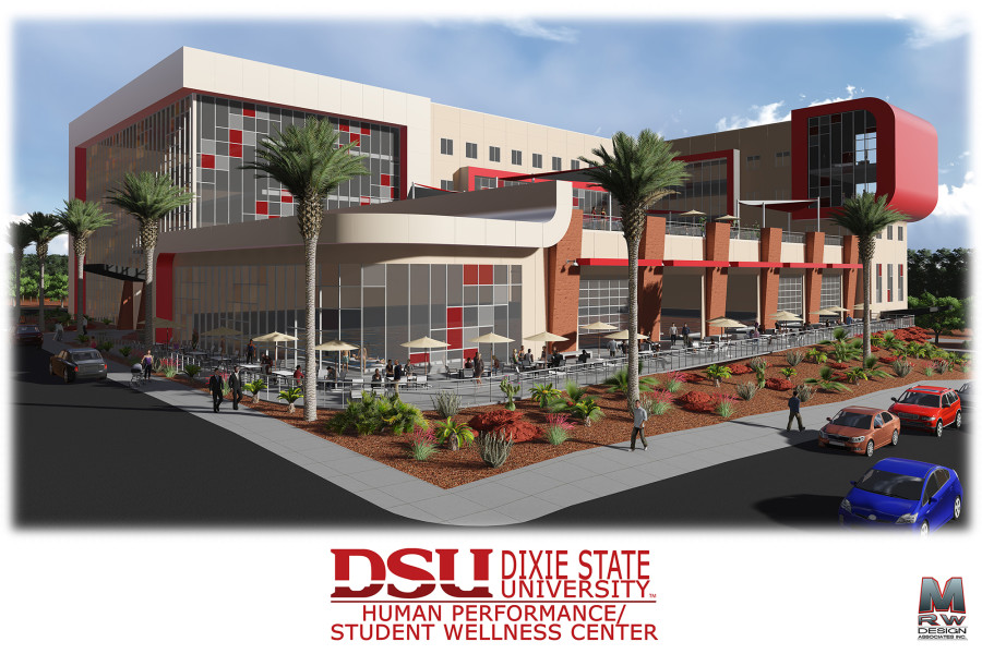 Dixie State University awards building of Human Performance Center to Layton Construction