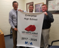 Enterprise High School Receives National Athletic Trainers' Association Safe Sports School Award