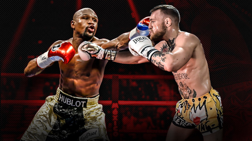 Floyd Mayweather improved to 50-0 with a 10th-round TKO Over Conor McGregor