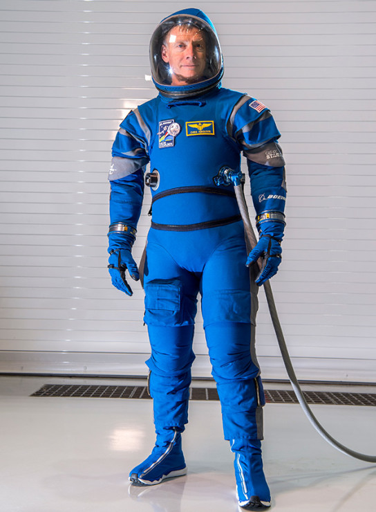 Boeing space suit