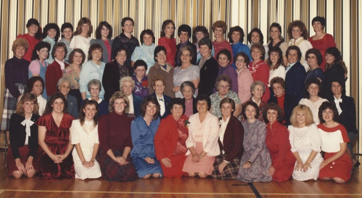Enterprise 2nd Ward Relief Society-1984 Christmas party