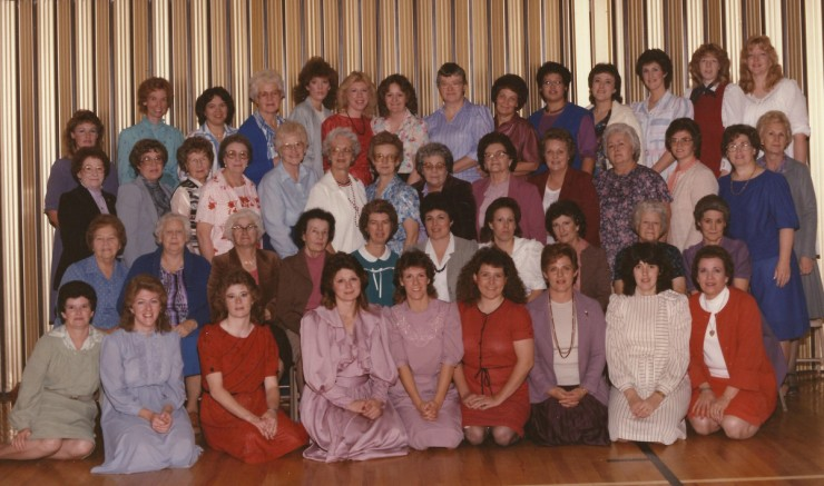 Enterprise 3rd Ward Relief Society-1984 Christmas party